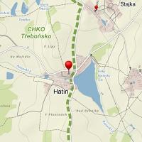 Mapa - Hatín